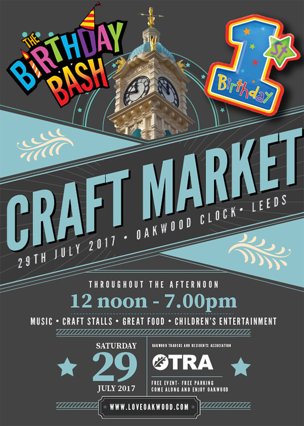 Oakwood Craft Market Birthday Bash 2017