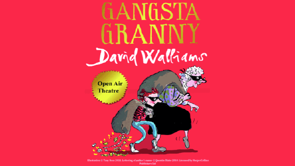 Open Air Theatre at Roundhay Park - July 2019 Gangsta Granny by the Mansion.