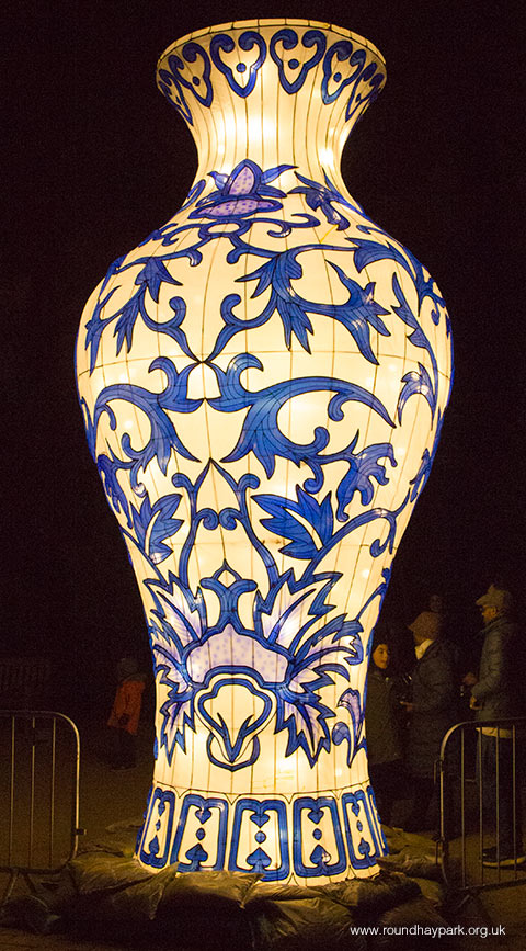 Christmas In Heaven Lantern.Magical Lantern Festival At Roundhay Park 24th November 2017