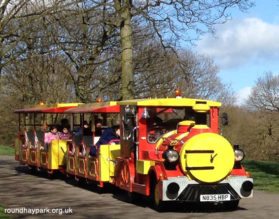 Roundhay Park Land Train