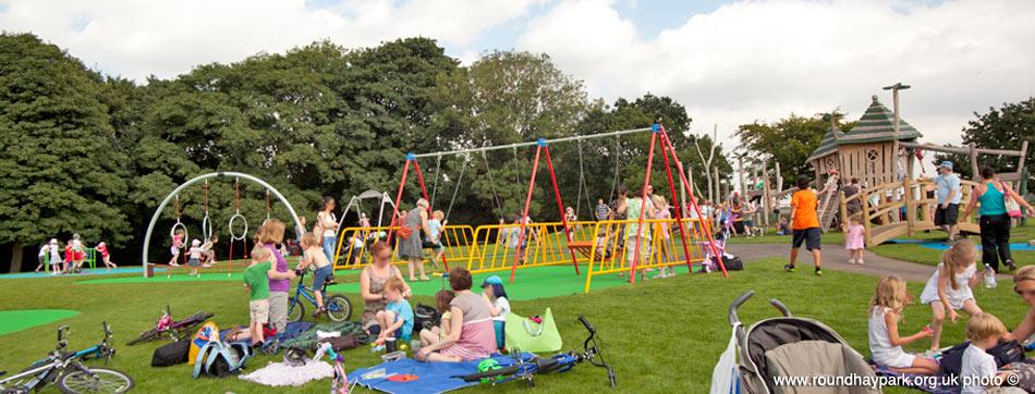 Roundhay Park Childrens Playground